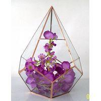 Best Selling Plant Geometric Glass Terrarium For Home Decor