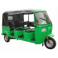 Bajaj Auto Rickshaw 3 rows seats 3 wheelers passenger tricycle BA250ZK-B