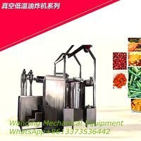 Stainless steel Vacuum low temperature frying machine for fruits/vegetables thumbnail image