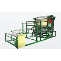 Horinzontal type guipure lining machine