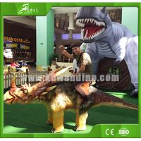 Entertainment coin operated dinosaur kiddie rides for sale