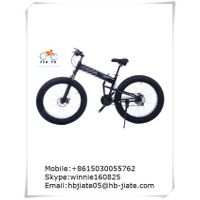 snow wide tire MTB bike