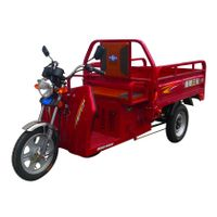 Oil-Electric hybrid tricycle thumbnail image