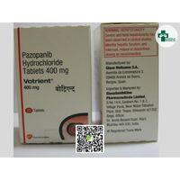 Votrient 400mg Tablets   Pazopanib Tablets   chawla medicos