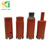 Diamond core drill bit for stone concrete rock drilling - dry or wet drilling tools thumbnail image