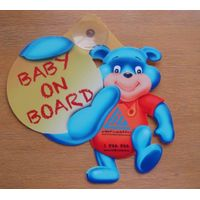 baby on board,car signs,window stickers