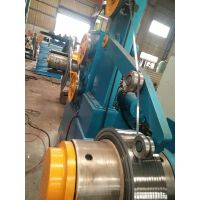 Strip rewinding machine