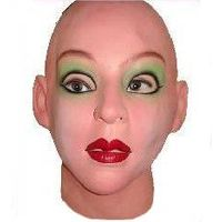 Supersoft & Sexy Female realistic mask and Halloween Masks can Moves with Face. thumbnail image