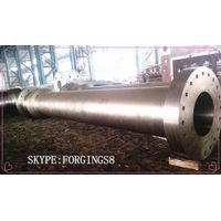 High Precision Heavy Alloy Steel Forgings Hydropower Spindle Shaft ASTM A388