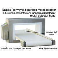 Industrial tunnel conveyor belt metal detector head, food/paper/cement/clay/mining metal detector thumbnail image