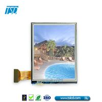 China wholesale supplier QVGA 3.5 inch outdoor lcd display sunlight readable lcd screen