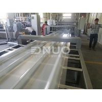 Fiberglass polyester FRP corrugated roofing sheet making machine