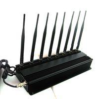 8 Antennas High Power Lojack/ WiFi/ VHF/ UHF Jammer