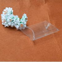 Clear box packaging clear transparent box , plastic recycled box , clear pillow boxes