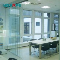 exterior frameless glass sliding doors for hotel and office