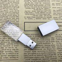 Custom Logo USB 3.0 or 2.0 Crystal Usb flash drives 4gb 8gb 16gb 32gb 64gb USB Flash Drives With Led thumbnail image