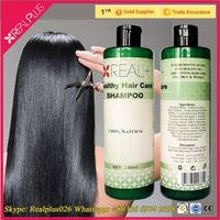 Anti hair loss Shampoo Best Natural Sulfate Free Salon Hair Shampoo China REAL PLUS Brands shampoo w
