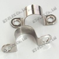 Cable Clips flexible double ear pipe clamp