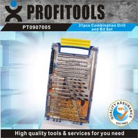 31pcs Combination Drill And Bit Set with Quick Switch