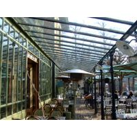 New design high quality glass sunroom