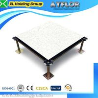 MOB calcium sulphate access floor in office
