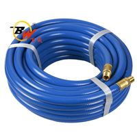 18mm Braided PVC air hose fiber reinforced plastic pipes thumbnail image