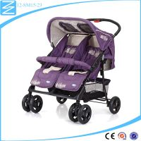 2016 most popular directioanl wheel twins baby walker buggy