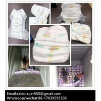 Cheapest disposable b grade baby diapers