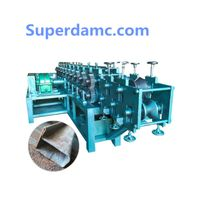 Customized Construction Material P Shape Pipe Roll Forming Machine