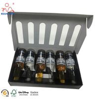 Wine Bottle Paper Carrier Box