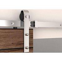 High Quality Full Set Stainless Steel Wooden Sliding Barn Door Hardware