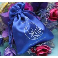 New Products For Wholesale Satin Small Drawstring bag