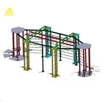combination training frame,combination training rack,strength and conditioning equipment,outdoor gym