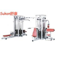 SK-245 Multi station eight station machine multi jungle fitness equipment