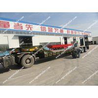 Low loader trailer, Tri axle trailer Lowbed trailer