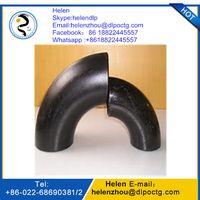 ASME ANSI B16.9 SCH 40 carbon seamless steel elbow thumbnail image