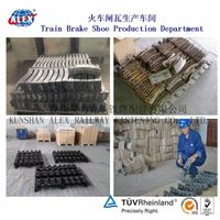 Hot sale composite wagon brake shoe 25610-H used in Russian market thumbnail image