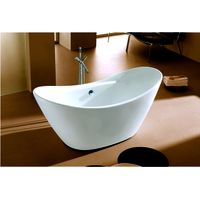 cUPC freestanding antique bathtub seamless joint finish oval acrylic tub for USA Canada