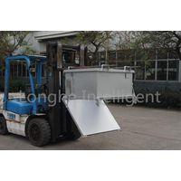 Forklift Truck Attachment Drop Bottom Bins