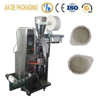 Round shaped bag tea packing machine/coffee pod packing machine