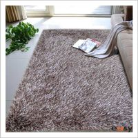 Polyester handmade area carpets and rugs