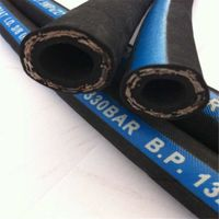 Steel Wire Reinforced Hydraulic Rubber Hose Pipe Price List SAE 100 R1/R2