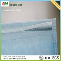 New Arrived Full Plastic Nose Clip for Disposable Mask