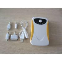 rechargerable colorful 7800mAh mobile power bank mobile power charger