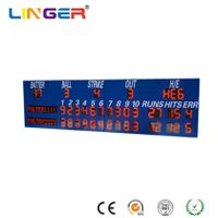 Outdoor Electronic Baseball Scoreboard with Wireless Control thumbnail image