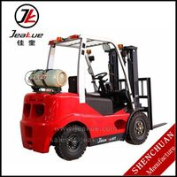 2015 Hot Sale European Prototype Design Four wheels 2T Counterbalanced Electric Forklift
