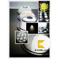led head light lenses for car 66mm 67mm 75mm 77mm 78mm diameter