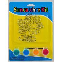 rabbit suncatcher paint kit
