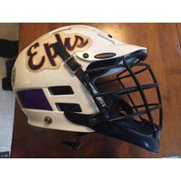 Williams College Ephs Game Used Cascade Lacrosse Helmet