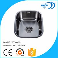 WY4439 undermount sink